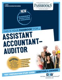Assistant Accountant-AuditorPassbooks Study Guide【電子書籍】[ National Learning Corporation ]