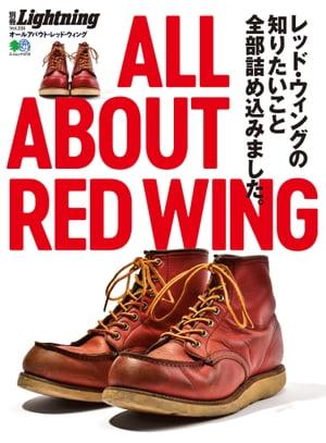 雑誌, ファッション Lightning Vol.235 ALL ABOUT RED WING