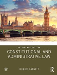 Constitutional and Administrative Law【電子書籍】[ Hilaire Barnett ]