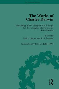 The Works of Charles Darwin: v. 9: Geological Observations on South America (1846) (with the Critical Introduction by J.W. Judd, 1890)【電子書籍】[ Paul H Barrett ]