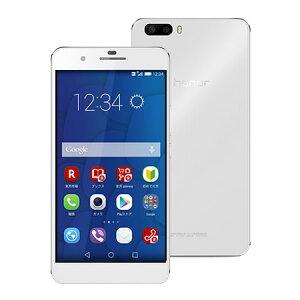 【セット販売端末】honor6 Plus(ホワイト)+通話SIMカード【楽天モバイル】 【SIMフリー】【格安スマホ】【ダブルレンズカメラ】【ファーウェイ】【送料無料】