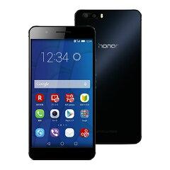 【セット販売端末】honor6 Plus(ブラック)+通話SIMカード【楽天モバイル】 【SIMフリー】【...