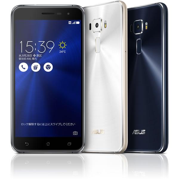 【セット販売端末】ZenFone 3+SIMカード(事務手数料込み)【モバイル】 【SIMフリー】【格安スマホ】【ASUS エイスース】【デュアルSIM】【4K】:モバイル
