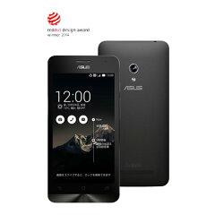 【セット販売端末】ZenFone 5(8GB)(ブラック)+通話SIMカード【楽天モバイル】 【送料無料...