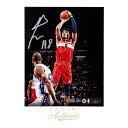 八村塁 直筆サイン入り 16x20インチ 「JUMPER」 フォトポスター 世界88枚限定エディション NBA ワシントン・ウィザーズ 【フレームなし】 / RUI HACHIMURA 16 X 20