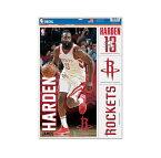 NBA ヒューストン・ロケッツ ジェームズ・ハーデン マルチデコールステッカー / Houston Rockets