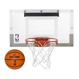 Spalding(スポルディング)NBA スラムジャムバックボード / ミニバスケットボールゴール 屋内 室内 インドア インテリア ファングッズ バスケ ゴール ギフト プレゼント