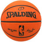 Spalding NBA公式 バスケットボール 6号球 公式試合球レプリカ / ラバーボール 屋外用に最適 スポルディング