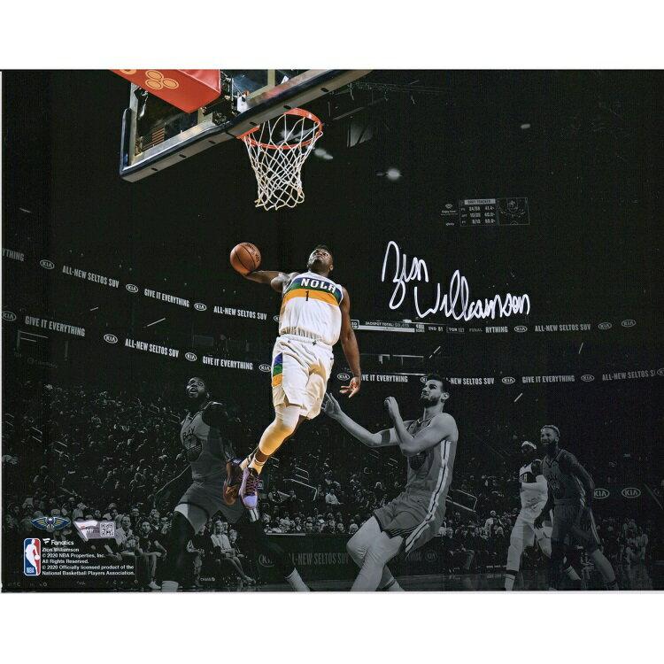 コレクション, サイングッズ  11x14 NBA Zion Williamson New Orleans Pelicans Autographed 11 x 14 inch Spotlight Photograph Fanatics