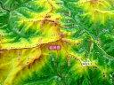 ジオラマ地図 谷川岳