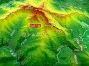 ジオラマ地図 仙丈ヶ岳