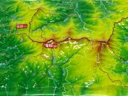 ジオラマ地図 金峰山・瑞牆山