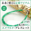 【K18WG】ブラックダイヤモンドブレスレット7ct
