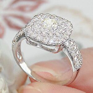 ファッション・ジュエリー・アクセサリー・レディース・指輪・リング・ゴールド・ホワイトゴールド・ダイヤモンドリング・ダイヤリング・K18・大粒・一粒・豪華・ゴージャス・ギフト・プレゼント・4月・誕生石