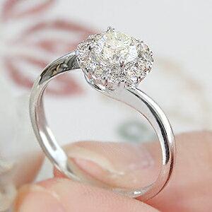 k18WG【0.5ctUP】ダイヤモンドリング