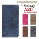 Galaxy A20 カバー ケース 手帳型 Galaxy A20 sc-02m ケース Galaxy A20 カバー scv46 ギャラ……