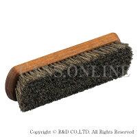 R&Dプロホースブラシホコリ落とし馬毛靴磨き(靴磨き靴ブラシ携帯用ブラシ)