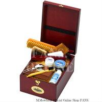 靴磨きセット【送料無料】M.モゥブレィトラディショナルケアセットモウブレイボックス木箱入りお祝い贈答品プレゼント