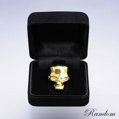 RANDOMSKULLRINGK18WG×DIAMOND#7