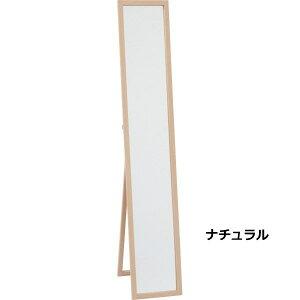 木製スタンドミラースタンド式ミラーHB−2715NCWHインテリア家具送料無料
