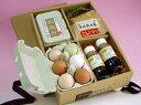 自然の恵み!有機肥料で栽培した自家製米と特撰卵の卵ご飯セット【専用醤油付き】