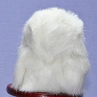 白ふくろう(ラパン)ファークラフト社製ぬいぐるみイヌネコクマテディベアギフト毛皮フォックスミンクウサギ