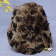 フクロウ ファークラフト社製 ぬいぐるみ ギフト 毛皮 ウサギ インテリア 小物