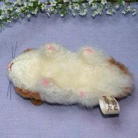 ゴールデンハムスターファークラフト社製ぬいぐるみイヌネコクマテディベアギフト毛皮フォックスミンクラム