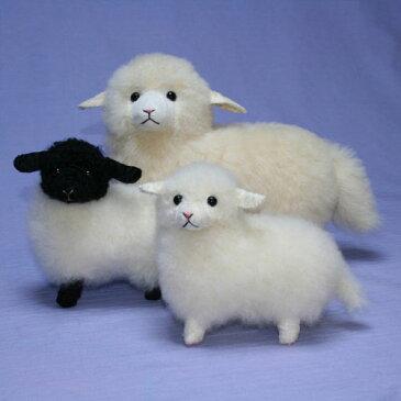 迷える小羊 ファークラフト社製 ぬいぐるみ ハンドメード 55年の実績 オリジナル ギフト 毛皮 ラム 清水拓司
