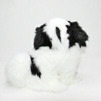 座り型チンファークラフト社製ぬいぐるみハンドメード55年の実績イヌ