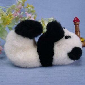 パンダ赤ちゃんパンダ/パンダ/パンダぬいぐるみ/●ふわふわ感触毛皮のぬいぐるみベビーパンダ ...