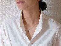 K18 ティップ ダイヤモンド ネックレス V字にセットされたダイヤモンド レディース 首飾り necklace 18k 18金 ダイアモンド ペンダント 送料無料 プラチナ可 シンプル 金属アレルギー ラパポート