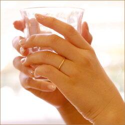 """【送料無料】""""究極のシンプルさ""""ダイヤモンド・K18マットリング◆シンプルな中にデザイン、品質、機能性がぎゅっと詰まったリングで個性的な手元に【ラパポート】【yo-ko501】"""