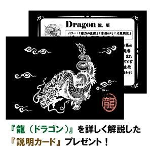 【一点物】チベット密教龍(ドラゴン)彫刻天珠中国紐ネックレス長さ調整可能|チベット密教アクセサリー|DZIBEADS【送料無料】
