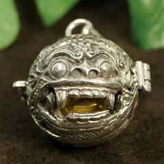 【バリ島で最も人気の高い神様バロンの形をしたガムランボールです。】【バリ島の神様】聖獣バ...