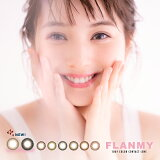 FLANMY(フランミー)30枚【1箱30枚】(送料無料即日発送FLANMYフランミー度あり度なしカラコンカラーコンタクト株式会社BlanchelT-Garden14.5mm13.8mm8.6mm58%高含水UVカット)