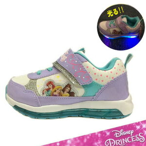 2129abceecac7   Disney ディズニー プリンセス 光る 靴 運動靴  PURPLE  6998  幼稚園 小学生 女の子