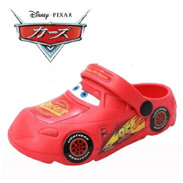 【 Disney ディズニー カーズ型 クロッグサンダル 7260 】サンダル クロッグ 靴 運動靴 男の子 子ども 子供 こども キッズシューズ 靴 子供靴 キャラクター靴 シューズ 男児 CARS カーズ ダイカット EVAサンダル EVA