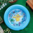 【ポケットモンスター サン&ムーン プール 】小さい 子供 水遊び プール うきわ キッズ こども ...