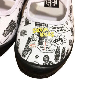 【 STAR WARS スターウォーズ 上履 1021 】幼稚園 小学生 男の子 子ども 子供 こども キッズシューズ 靴 子供靴 キャラクター靴 シューズ 男児 コスチューム うわばき バレーシューズ ダースベーダ— R2D2 総柄