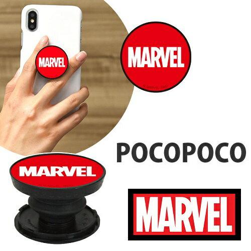 スマートフォン・携帯電話アクセサリー, スマートフォン用ホールドリング MARVEL POCOPOCO MV-139A iPhone Marvel