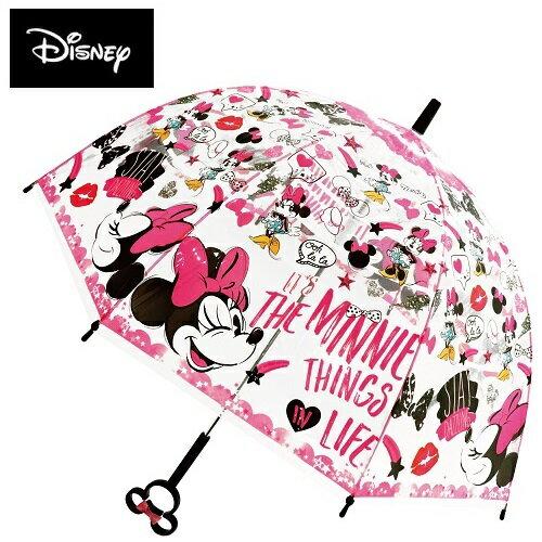 傘, レディース雨傘  55cm 32446 Disney Minnie Mouse
