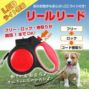 LEDだから明るい!!フリー・ロックの操作が簡単!お散歩がもっと楽しくなります!送料無料!!【 L...