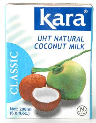 【ケース】カラクラシックココナッツミルク200mlx25個UHTブリック