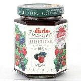 ダルボ フォレスト ベリー ジャム 200g/ 果肉70%使用 70%果実 甘さ控えめ(ラズベリー、ブラックベリー、ブルーベリー、ワイルドストロベリー)