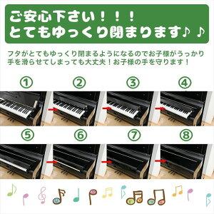 【送料無料】【ポイント5倍】指詰め怪我防止ピアノフィンガーガード粘着テープタイプ蓋開閉補助具アップライトピアノ専用/ピアノフィンガーガード