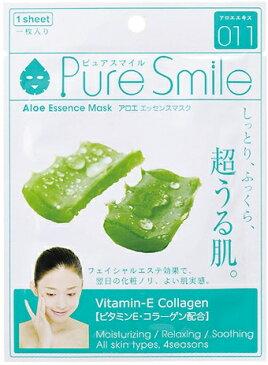 Pure Smileエッセンスマスク アロエ 1枚[シートマスク 保湿]
