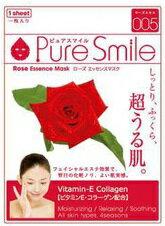 Pure Smileエッセンスマスク ローズ 1枚[シートマスク 保湿]