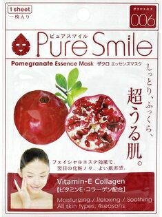 Pure Smileエッセンスマスク ザクロ 1枚[シートマスク 保湿]