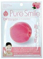 Pure Smileエッセンスマスク ピーチ 1枚[シートマスク 保湿]